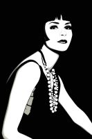 Louise Brooks by pin-n-needles