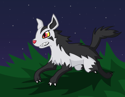 Mightyena by SHINXxPOOCHYENA