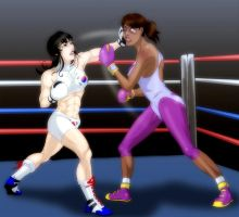 LILAC Boxing Club in FIBF Action 2 by dangerfan