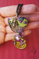 Spooky Skull Heart by colourful-blossom