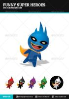 Funny Super Heroes by BlinVarfi