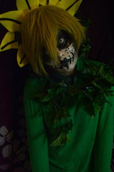 Flowey The Flower Cosplay by YamiKlaus