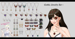 [MMD] Jewelry Set DL ~ by o-DeadSilverVirus-o
