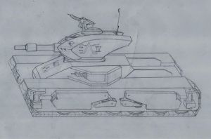 ambulating Light tank MKIII by rafenrazer