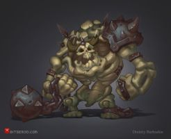 Skeletons Gunt by DmitriyBarbashin