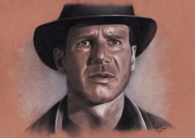 Indiana Jones by andreasmichel
