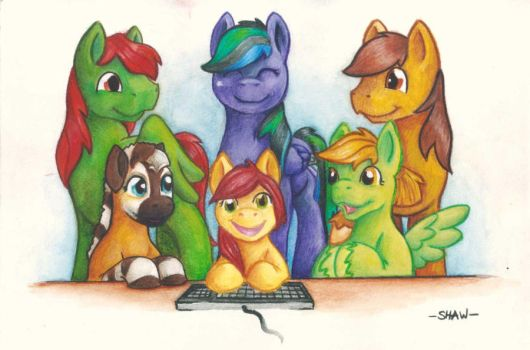 Legends of Equestria at Galacon by Pa-Kalsha