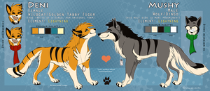 Deni and Mushy Dual Ref [OLD / outdated] (2012) by SilverDeni