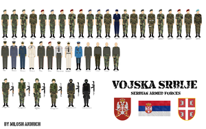 Serbian Armed Forces by Milosh--Andrich