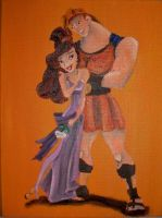 Hercules and Meg by billywallwork525