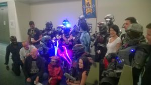 Spartan Gathering With ONI and Frank O'Connor by Bioshutt