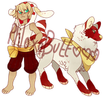 Wolf And Bun FOR SALE {CLOSED} by Swag-Master-General