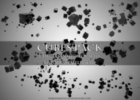 Cubes pack by MariaSemelevich