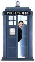The 9th Doctor by little-space-ace