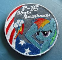 Custom Bokukko F16 Patch by sudro