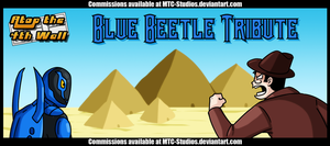 AT4W Classicard: Blue Beetle Tribute by MTC-Studio