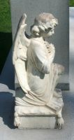 Mount Olivet Cemetery Angel 42 by Falln-Stock