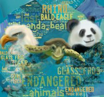 Endangered Animals by WindDrifter