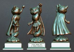 Animex 2014 Trophy Design Competition Winner by Andreevsky