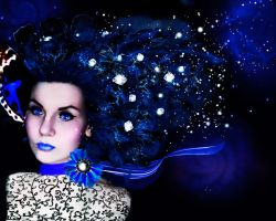 Snow queen by Polinamay