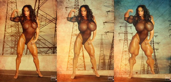 Power Lines Sequence by areaorion