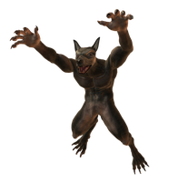 Lycanthropos 002 by Selficide-Stock