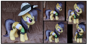 Daring Do Custom Plush by Nazegoreng