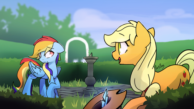 Appledashery vol. two Cover art by DarkFlame75