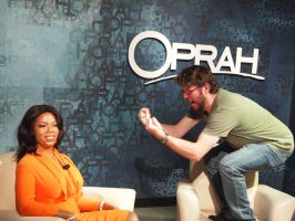 Oprah and Jonathan by JolanthusTrel
