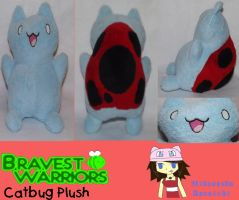 :Bravest Warriors: Catbug Plush by MiharutheKunoichi