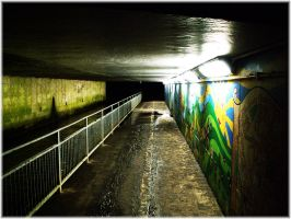 Underpass by angelwillz