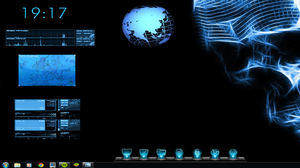 Blue desktop v1 by kris1101998