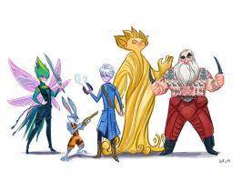Rise of the Guardians of the Galaxy by spicysteweddemon