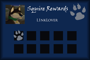L1nkLover Squire Rewards Card by SapphireSquire