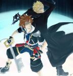 Sora vs Roxas by chocographs