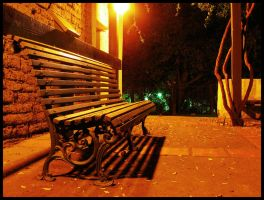 Bench in color by mightystag