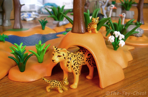 Playmobil Africa - Leopards by The-Toy-Chest