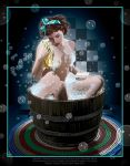 Rub A Dub Stacey by rjonesdesign