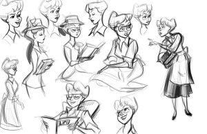 Anita Studies by scotlanddbarnes