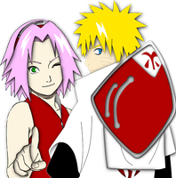 naruto and sakura uzumaki by Bleach-Fairy
