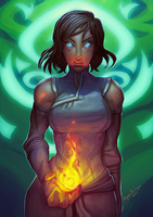 Legend of Korra by MugenMcFugen