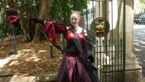 Red Queen at the Gate by darkbhudda