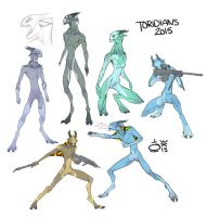 NAKED ALIENS OH BOY by Techta