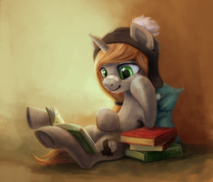 reading pone by kaermter