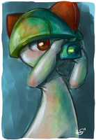 Ralts by MrThesaurus