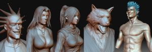 ZBrush Samples by Konartist-Portfolio