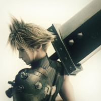 cloud dissidia by supernaturallover