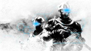Tom Clancy's Ghost Recon Future Soldier Wallpaper by NIHILUSDESIGNS