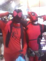 Armageddon 2014 - Kaine and Wade by LEMOnz07