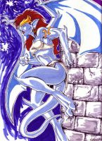 Moonlit Demona by SilverKitty000